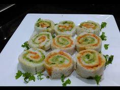 Sandwich Rollups Recipe - Bread Sushi Recipe - Kid's Video Recipes - Perfect Summer Recipe - YouTube