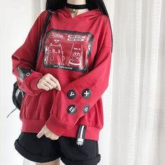 Top Japan Fashion & Korea Fashion & Asian Fashion Clothes And Accessories. Edgy Outfits, Anime Outfits, Cute Casual Outfits, Pretty Outfits, Fashion Outfits, Harajuku Fashion, Kawaii Fashion, Cute Fashion, Lolita Fashion