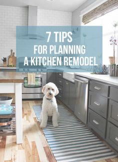 {The Home Inspiration Notebook} 7 Tips for Planning a Kitchen Remodel - The Inspired Room