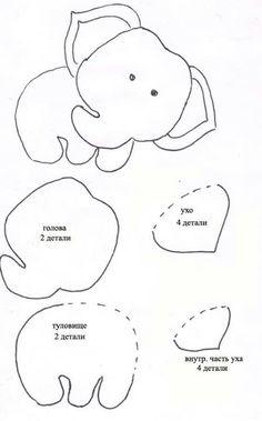 Teaching Feelings Today I Feel Play Dough Mats Felt Animal Patterns, Felt Crafts Patterns, Applique Patterns, Stuffed Animal Patterns, Quiet Book Templates, Felt Templates, Felt Keyring, Baby Mobile Felt, Felt Books