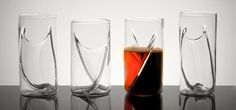 Beer glass designed for speciality drinks