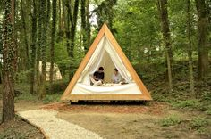 pyramid tent teepee thing