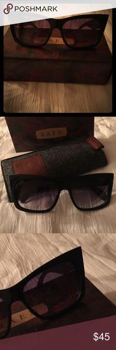 Raen Sunglasses Black frame Duran cat-eye sunglasses, solid frame, black lenses, with soft case and box brand new. RAEN Optics Accessories Glasses