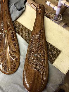 Conte Creations | Wood Carving maori patu