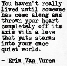 But that was then...this is now and love isn't love when it's not given in return.