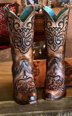Obsessed with Corral Boots!