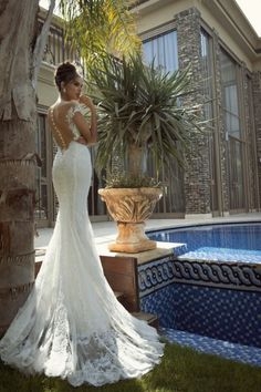 24 Fabulously Unique Wedding Dresses by Galia Lahav's Collection 2014 - Fashion Diva Design