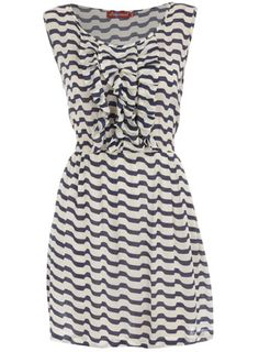 Dorothy Perkins stripe ruffle dress