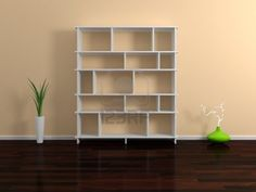 Modern shelves  Stock Photo - 14073333