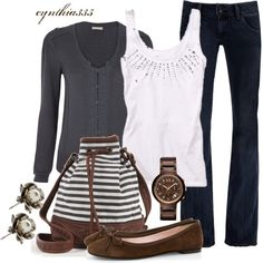 """Casual Weekend"" by cynthia335 on Polyvore"