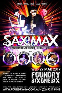 Sax to the Max