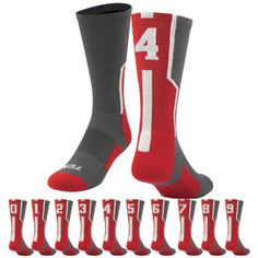 Worldwide Sport Supply, Inc.'s online shop offers a variety of wrestling, volleyball & team fitness apparel, shoes & accessories. Volleyball Team, Sport Socks, Crew Socks, Scarlet, Sports, Shopping, Accessories, Fashion, Hs Sports