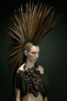 ::: OutsaPop Trashion ::: DIY fashion by Outi Pyy :::: Jess Eaton couture