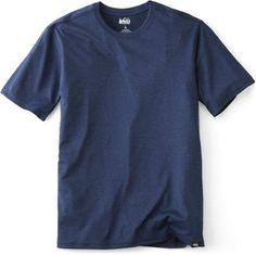 REI Co-op Men's Tech T-Shirt Indigo Black Heather Xxxl