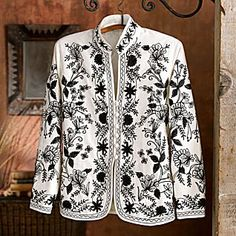 Lotus Temple Embroidered Jacket - National Geographic Store