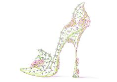 Wedding Slipper - Rarefootage Shoe Designs