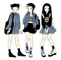 art cute fashion anime kawaii Grunge pastel Japanese Fashion pastel goth Tokyo Fashion Source by salomemontoyaa fashion Tokyo Fashion, Fashion Art, Urban Fashion, Fashion Outfits, Fashion Clothes, Fashion Styles, Fashion Drawings, Clothes Women, Goth Clothes