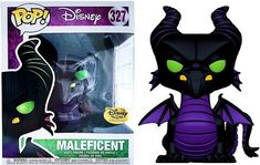 Disney Maleficent Dragon Exclusive Vinyl Figure [Haunted Forest] oh it's so cute Figurine Pop Disney, Pop Figurine, Figurines Funko Pop, Funko Figures, Disney Pop, Disney Pixar, Funk Pop, Maleficent Dragon, Disney Maleficent