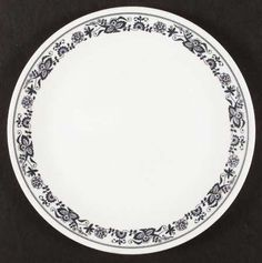 Corning Old Town Blue (Corelle) Found 7 dinner plates for $6 at garage  sc 1 st  Pinterest & Vintage corelle..1960\u0027s...butterfly gold...8 dinner plates ...
