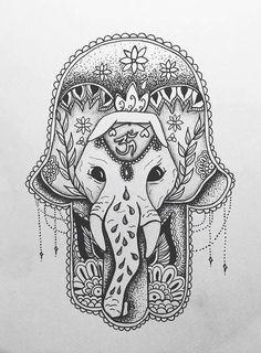 elephant in biro ❤️