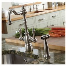 Abode, Bayenne Monobloc, Traditional Tap with Handspray   Appliance House
