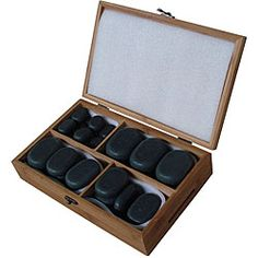Basalt Lava 36-piece Hot Stone Massage Kit