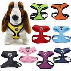 happycattag Comfort Dog Walking Harness, Cat cat Safe Control, No Pull and No Choke Design, Eco-Friendly Buckle, Protection for Puppies and Dogs in Variety of Colors and adjustable Size XS, S, M, L and XL ** Additional info  : Cat Collar, Harness and Leash
