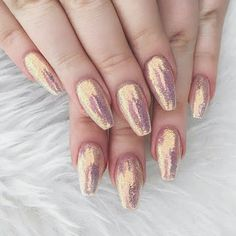 Magical vibes  loving @nikkietutorials nails ✨