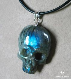 Black onyx crystal skull pendant one day one day i am going to buy labradorite crystal skull pendant mozeypictures Images