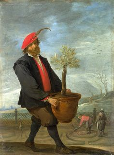 Spring  David Teniers the Younger