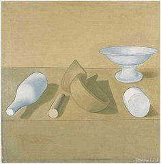 Giorgio Morandi, I should do something like this to practice shading