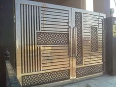 Steel Gate Design Main Door Metal Gates Iron Stainless Grill Grades