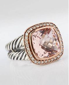 Motivation for completing Grad School.. This David Yurman ring waiting at the end from my parents.