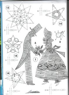 Bobbin Lace, Crochet, Album, Collection, Ideas Para, People, Faces, Patterns, Flat Irons