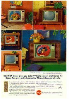RCA – Victor TV – Custom engineered the Space Age way (1966)