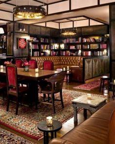 Gild Hall, the Library Bar, NYC