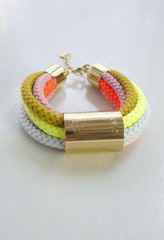 Rope Bracelet - Neon