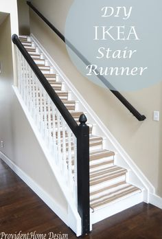 A month or so back I mentioned in one of my posts about wanting to tear up the carpet on my stairs. Well I did and project Replace Carpet with Stair Runner is done! Are you ready for some before and afters?? The Before- A boring beige carpet that was a magnet for dirt and cat hair. … … Continue reading →