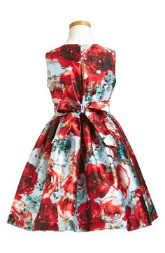Pippa & Julie 'Ice' Floral Print Sleeveless Dress (Big Girls) | Nordstrom