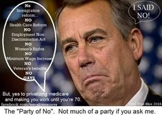 Tell Boehner it is time to do what Americans want, not the Kochs. #NoMoreGOPWar  #UniteBlue #PDMFNB