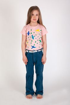 Spring Tee and Cord Pants Thunder, Anïve for the minors.
