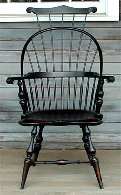 Striking Windsor  chair--add it to a predominantly modern setting for a wonderfully-eclectic feel.