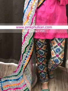Shop the look or single pcs. Ready to ship from California. Free shipping in USAShop Online www.pinkphulkari.com