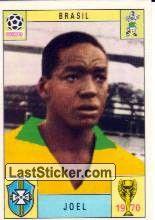 Sticker 174: Joel - Panini FIFA World Cup Mexico 1970 - laststicker.com