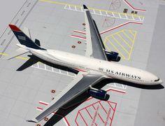 GEMINI JETS 200 1/200 USAIR US AIRWAYS A330-200 REG#N279AY! MINT! G2USA304