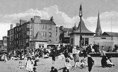 Old photograph of Portobello, Edinburgh, Scotland