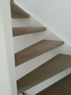 Of de open trap met ondertapijt