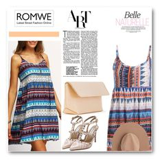 """""""ROMWE"""" by adanes ❤ liked on Polyvore featuring Iala Díez and Calypso Private Label"""