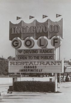 Whatever happened to the Inglewood Golf Course? Public Golf Courses, Best Golf Courses, Golf Photography, Landscape Photography, Best Rain Umbrella, Short Game Golf, Public Restaurant, Coeur D Alene Resort, Inglewood California