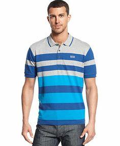 BOSS Green Paddy 1 Stripe Polo Shirt